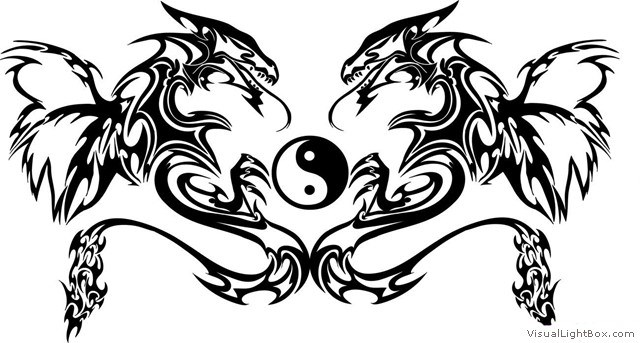 Dessin Dragon Tatouage motif-tatouage-dragon-62