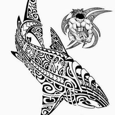 motif requin pour dessin modele tatouage polynesien maori fait symboles marquisiens shark tattoo. Black Bedroom Furniture Sets. Home Design Ideas